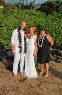 Ken & Yulia, Palauea Beach, Maui