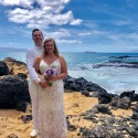 Greg and Rebecca, Makena Cove, 2018