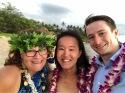 With Rachael & Sean, Palauea Beach, 2018