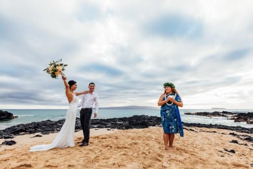 Janessa & Danny, Makena Cove - Photo by Morrea Thill