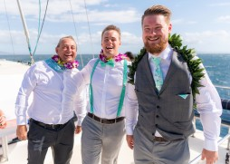 Handsome groom and his groomsmen.