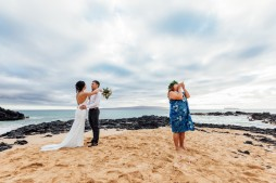 Conch shell announcement of marriage